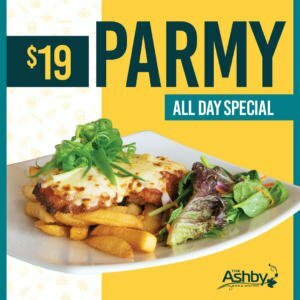 Parmy Special - Wednesdays