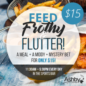 Feed, Frothy, Flutter