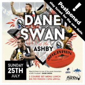 dane swan postponed