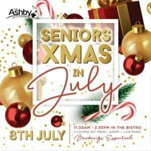 Seniors Christmas in July